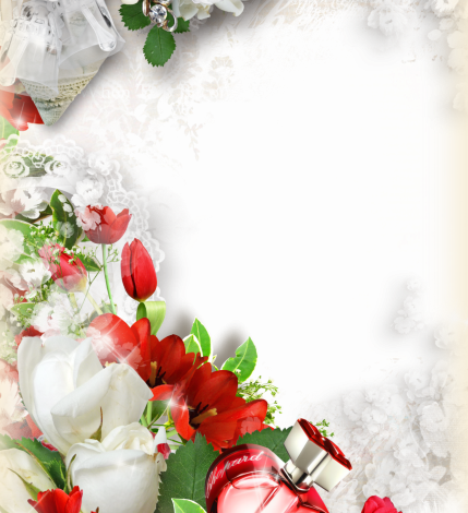 colorful flowers romantic photo frame 429x470 - colorful flowers romantic photo frame