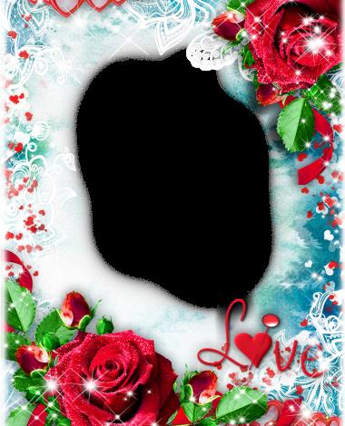 cute red decorated love photo frame 380x470 - cute red decorated love photo frame