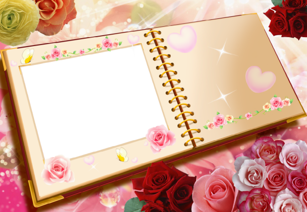 my love book romantic photo frame - my love book romantic photo frame