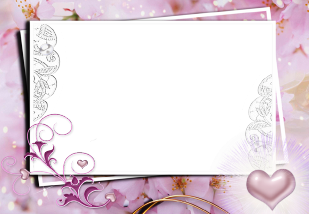 romantic Violet romantic photo frame - romantic Violet romantic photo frame