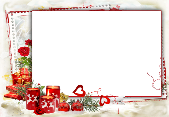 romantic red candles love photo frame - romantic red candles love photo frame
