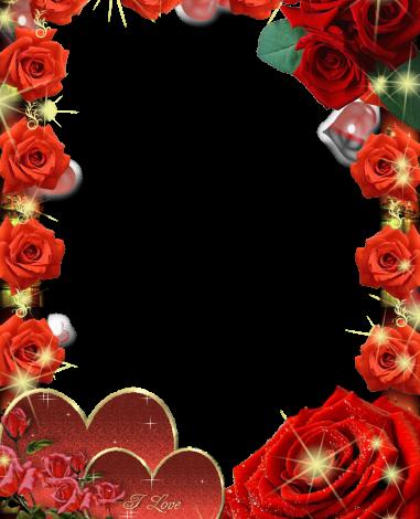 soft romantic Rose collar love photo frame 381x470 - soft romantic Rose collar love photo frame