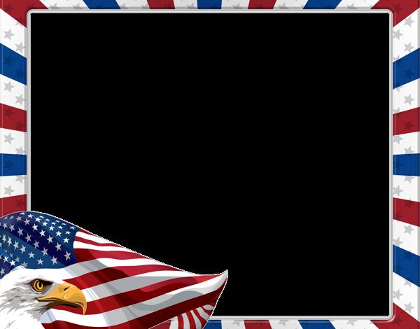 USA Día de la Independencia Marco de fotos 600x470 - USA Día de la Independencia Marco de fotos