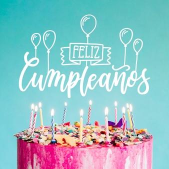 feliz cumpleanos lettering 23 2148487914 - feliz cumpleaños Marcos para fotos