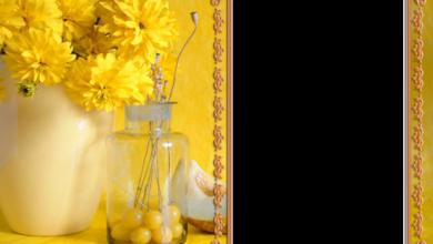 marco de fotos amarillo con ramo de rosas amarillas 390x220 - marco de fotos amarillo con ramo de rosas amarillas