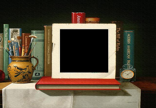 marco de fotos de papel viejo - marco de fotos de papel viejo