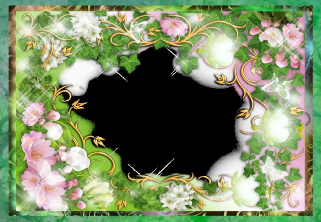 marco de fotos romantico verde amor jardin - marco de fotos romántico verde amor jardín