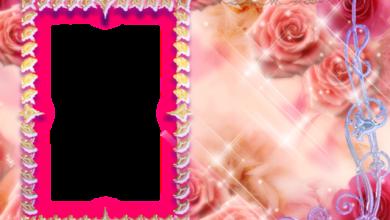 marco de fotos rosa marco brillante con pequenos corazones 390x220 - marco de fotos rosa marco brillante con pequeños corazones