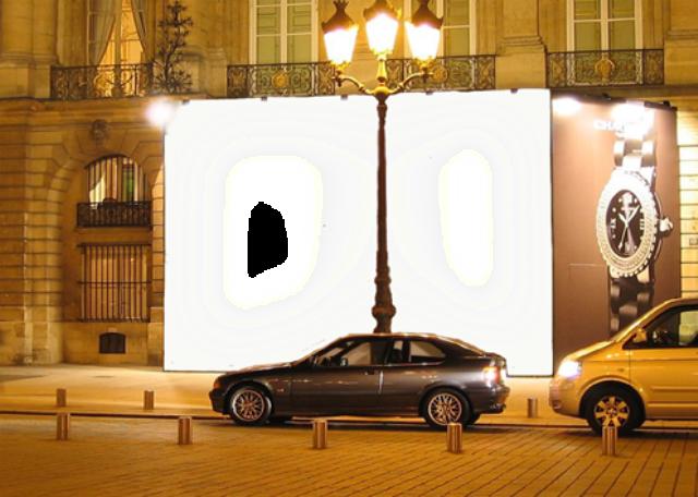 marco publicitario de la foto de la cartelera de la calle - marco publicitario de la foto de la cartelera de la calle