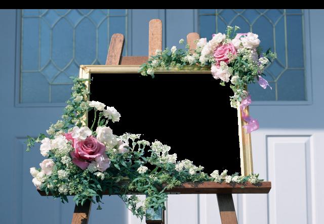 tablero de dibujo con marco de fotos de flores - tablero de dibujo con marco de fotos de flores