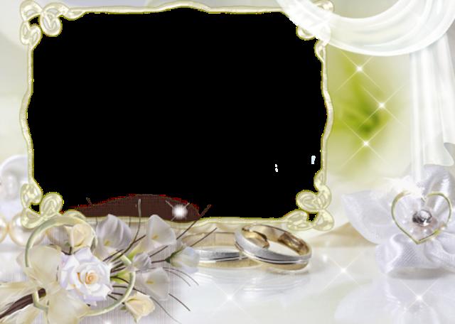 mi marco de fotos de boda con flores blancas - mi marco de fotos de boda con flores blancas