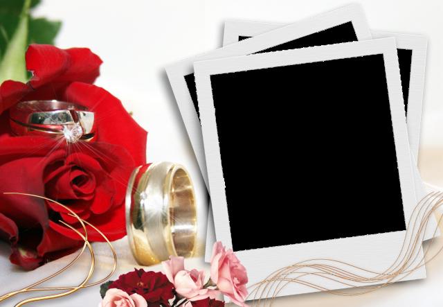 mi marco de fotos de boda romantica 1 - mi marco de fotos de boda romantica