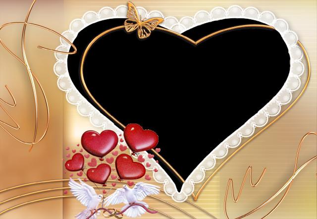 el marco de fotos del corazon del diamante para la foto de la boda - el marco de fotos del corazón del diamante para la foto de la boda