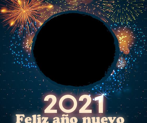 feliz ano nuevo 2021 marco de fotos de fuegos artificiales 564x470 - feliz año nuevo 2021 marco de fotos de fuegos artificiales