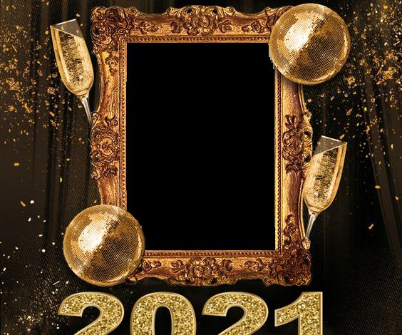 feliz ano nuevo 2021 marco de fotos dorado 564x470 - feliz año nuevo 2021 marco de fotos dorado
