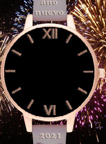 feliz ano nuevo 2021 reloj de pulsera marco de fotos 346x470 - feliz año nuevo 2021 reloj de pulsera marco de fotos