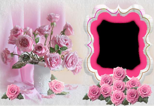 Marco de fotos muy bonita y romantica - Marco de fotos muy bonita y romántica