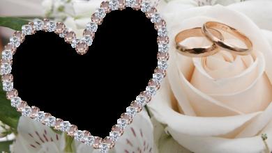 joyas de mi corazon marco de fotos de boda 390x220 - joyas de mi corazón marco de fotos de boda