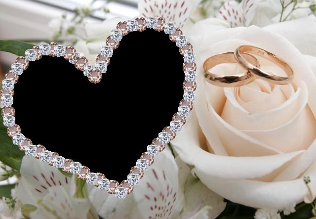 joyas de mi corazon marco de fotos de boda - joyas de mi corazón marco de fotos de boda