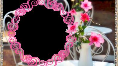 marco de fotos de circulo muy hermoso y romantico 390x220 - marco de fotos de círculo muy hermoso y romántico