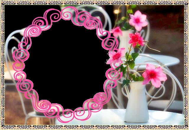 marco de fotos de circulo muy hermoso y romantico - marco de fotos de círculo muy hermoso y romántico