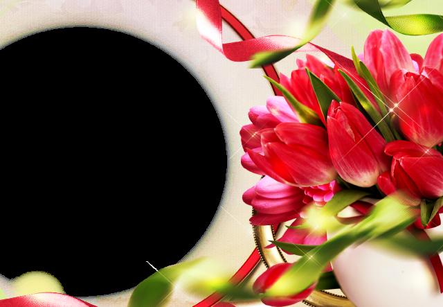 marco de fotos muy hermoso y romantico con flores rojas - marco de fotos muy hermoso y romántico con flores rojas