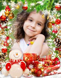 1 234x300 - feliz navidad 10 marcos de fotos