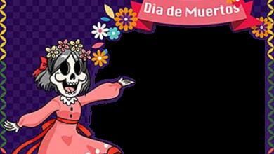 Celebra El Dia De Muertos Marcos Para Foto 390x220 - Celebra El Dia De Muertos Marcos Para Foto
