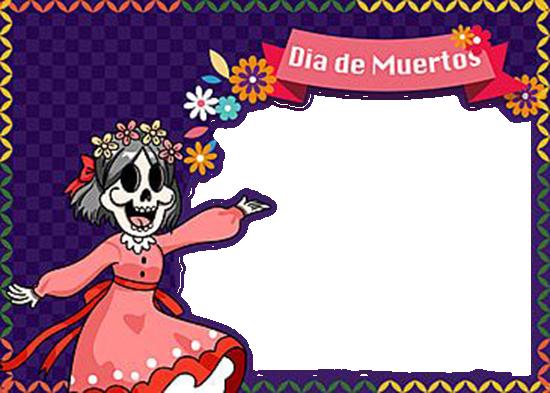 Celebra El Dia De Muertos Marcos Para Foto - Celebra El Dia De Muertos Marcos Para Foto