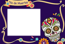 Dia De Muertos Altar Marcos Para Foto 220x150 - Dia De Muertos Altar Marcos Para Foto