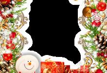 Photo of cálido marco de fotos de santa claus