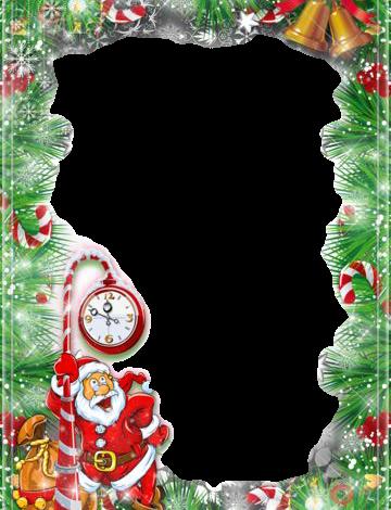lindo marco de fotos de santa claus 360x470 - lindo marco de fotos de santa claus