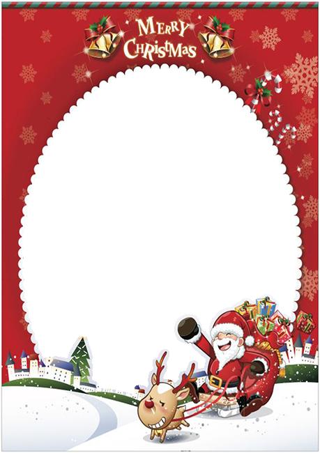 maravilloso diseno de marco de fotos de Papa Noel - maravilloso diseño de marco de fotos de Papá Noel