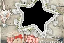 Photo of marco de feliz navidad para fotos y Feliz año nuevo
