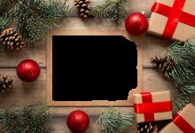 Photo of marcos para fotos de feliz navidad y Feliz año nuevo