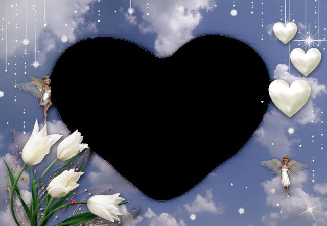 El Amor Es Un Corazon Blanco Marcos Para Foto - El Amor Es Un Corazon Blanco Marcos Para Foto